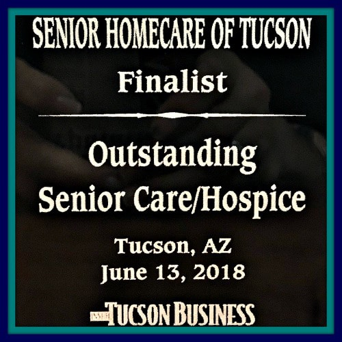 Tucson Business Outstanding Senior Care Award