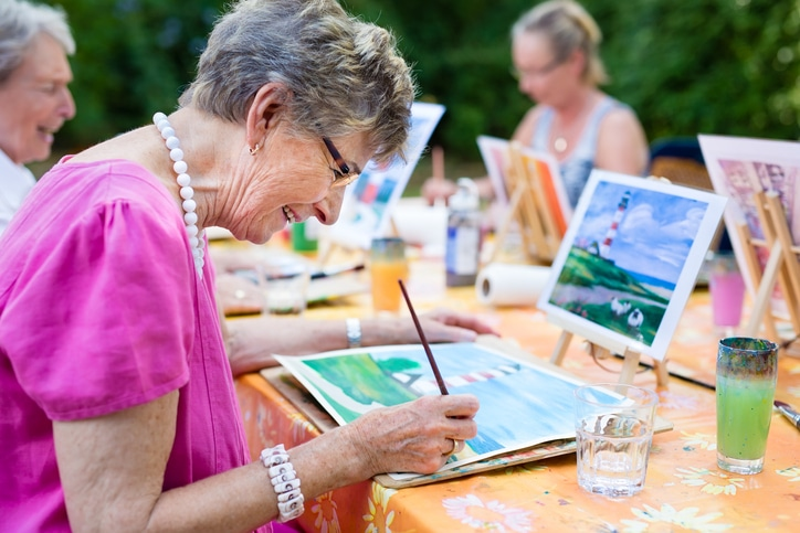 Seniors Staying Social - memory care sun city